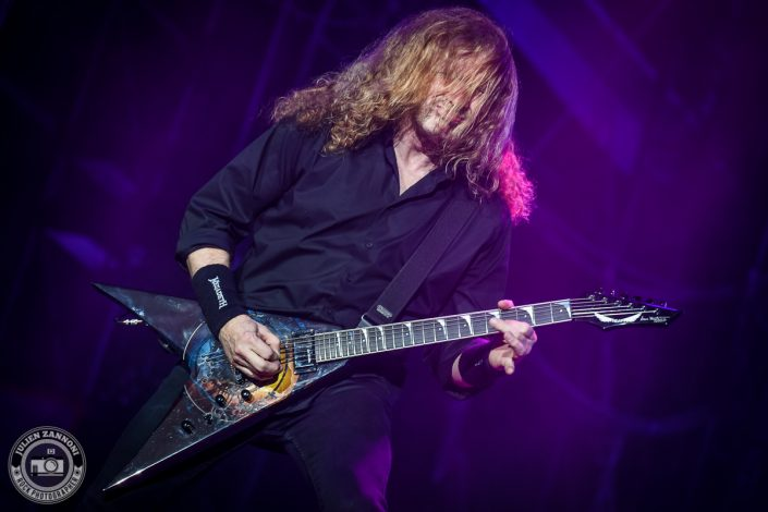 Megadeth plays at Wacken Festival 2017