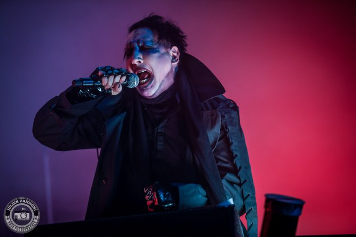Marilyn Manson plays at Wacken Festival 2017