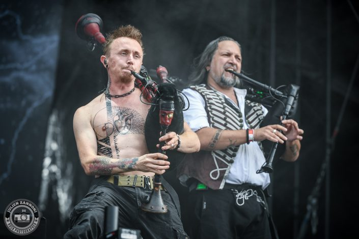 Saltatio Mortis plays at Wacken Festival 2017