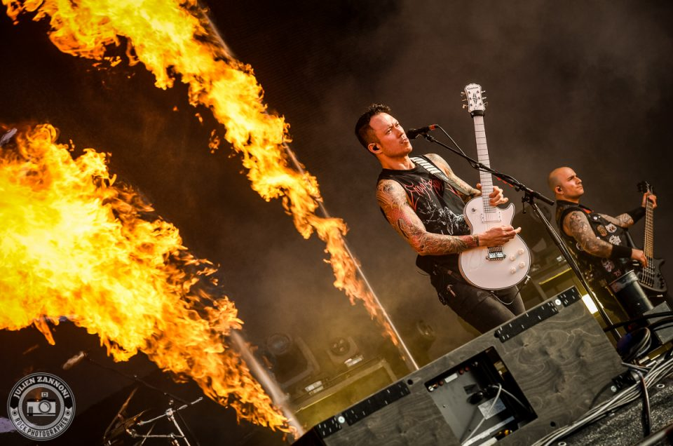 Trivium plays at Wacken Festival 2017