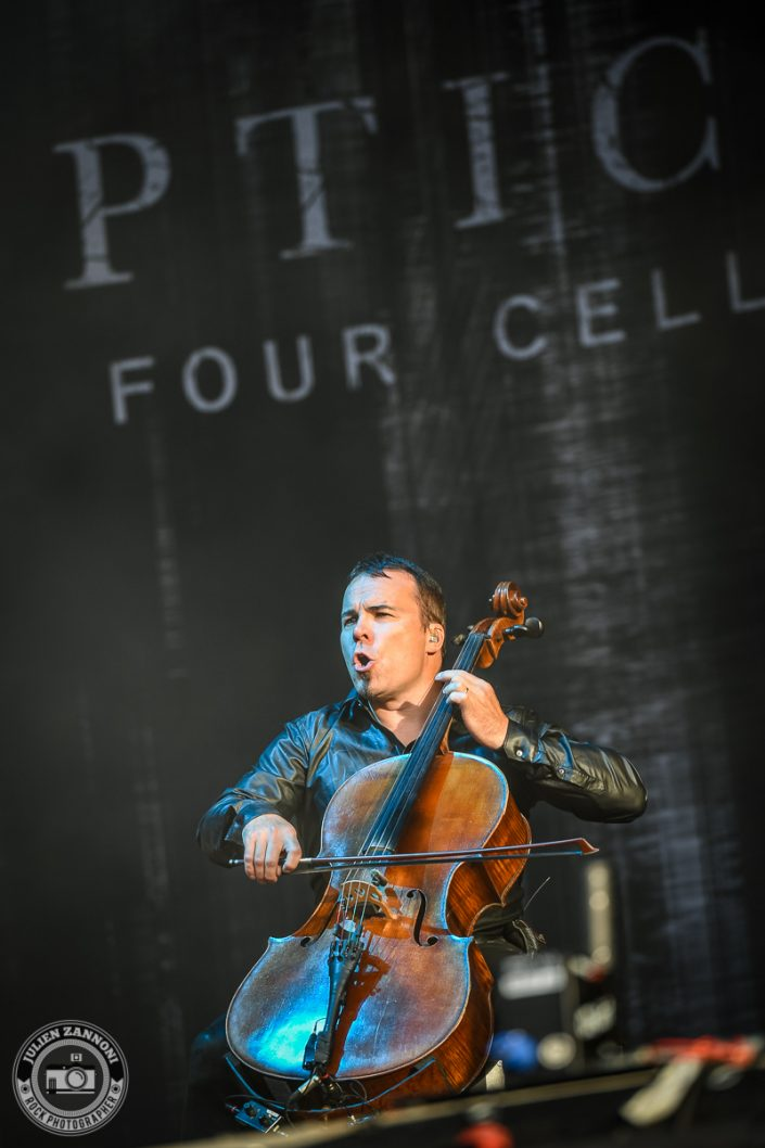 Apocalyptica plays at Wacken Festival 2017