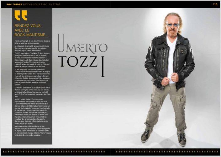 Umberto Tozzi - Age Tendre et Tête de Bois 2015