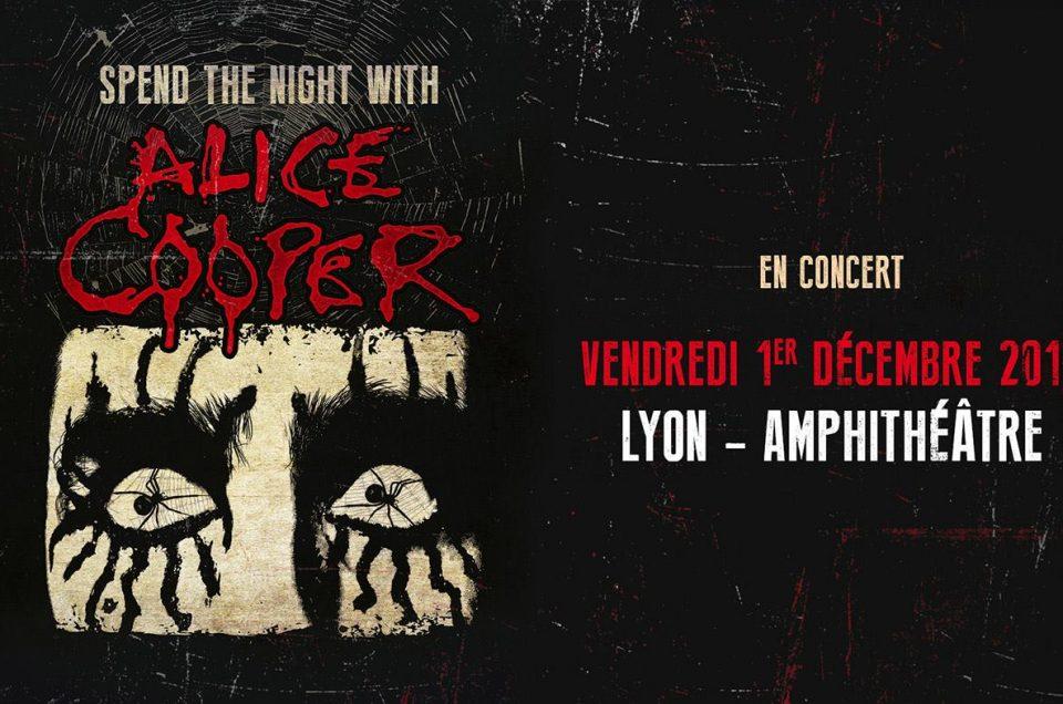 Alice Cooper Lyon 1er Décembre 2017