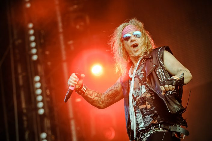 Steel Panther plays at the Wacken Open Air 2014