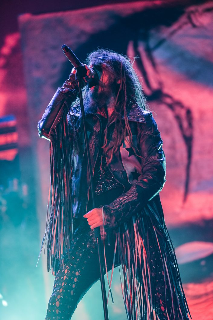 Rob Zombie plays at the Mera Luna Festival 2015