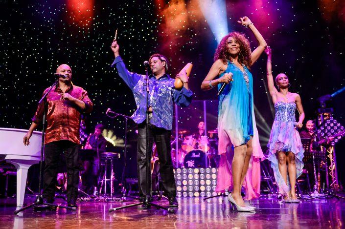 La Compagnie Créole plays at Age Tendre et Tête de Bois cruise 2014