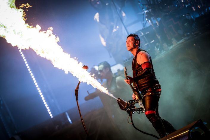 Rammstein plays at the Download Festival Paris - 2016