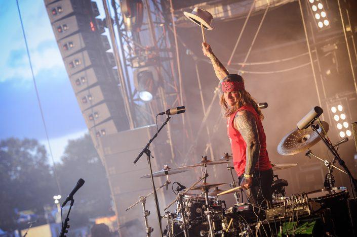 Steel Panter plays at the Wacken Open Air 2016