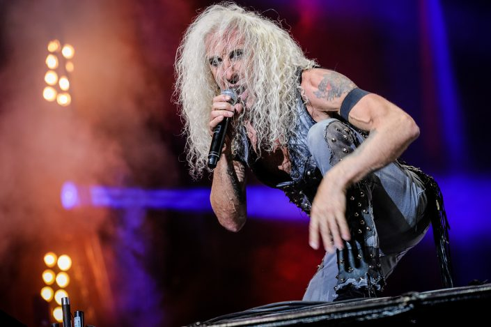 Twisted Sister plays at the Wacken Open Air 2016