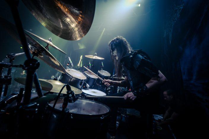 Dark Funeral plays in Lyon 2016
