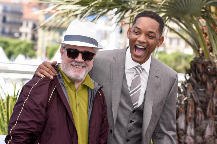 Pedro Almodovar & Will Smith - Cannes 2017