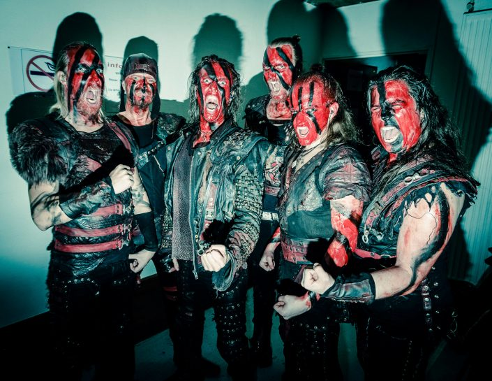 Viking metal band Turisas by Julien ZANNONI