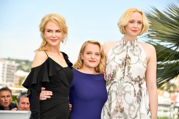 Nicole Kidman, Elisabeth Moss, Gwendoline Christie - Cannes 2017