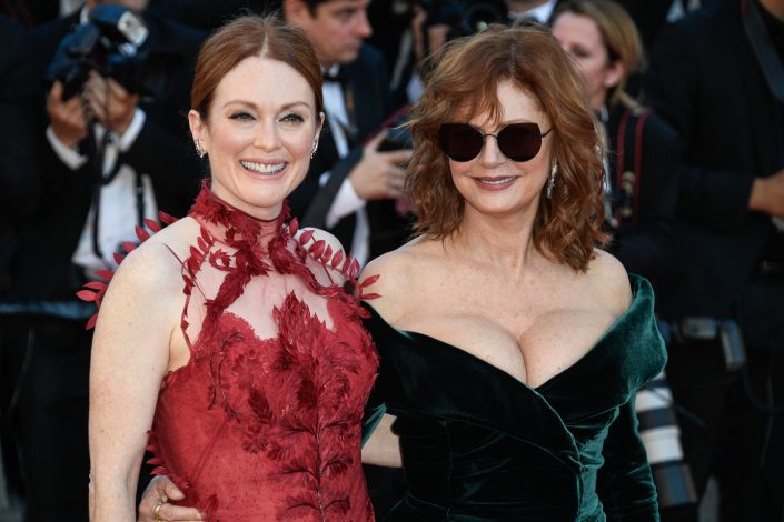 Julianne Moore & Susan Sarandon - Cannes 2017