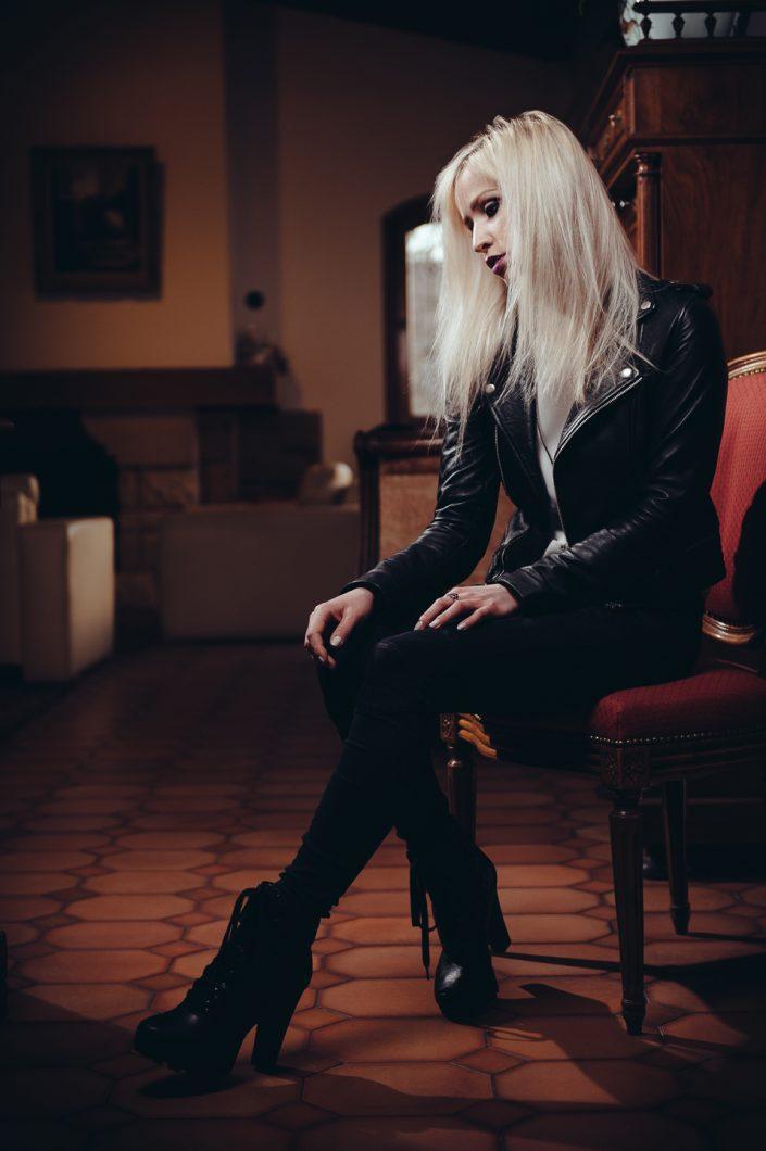 Rock model Laura Rosie by Julien ZANNONI