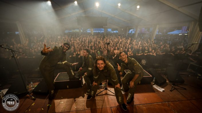 Ultra Vomit plays at Octopode Festival 2017