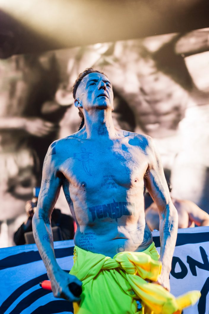 Die Antwoord plays at the Montreux Jazz Festival 2015