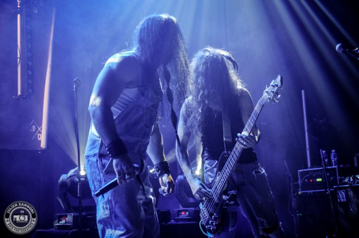 Dread Union Blood plays at the Atelier in Cluses - 2017
