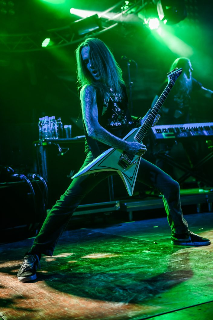 Children of Bodom plays at the Octopode Festival 2017