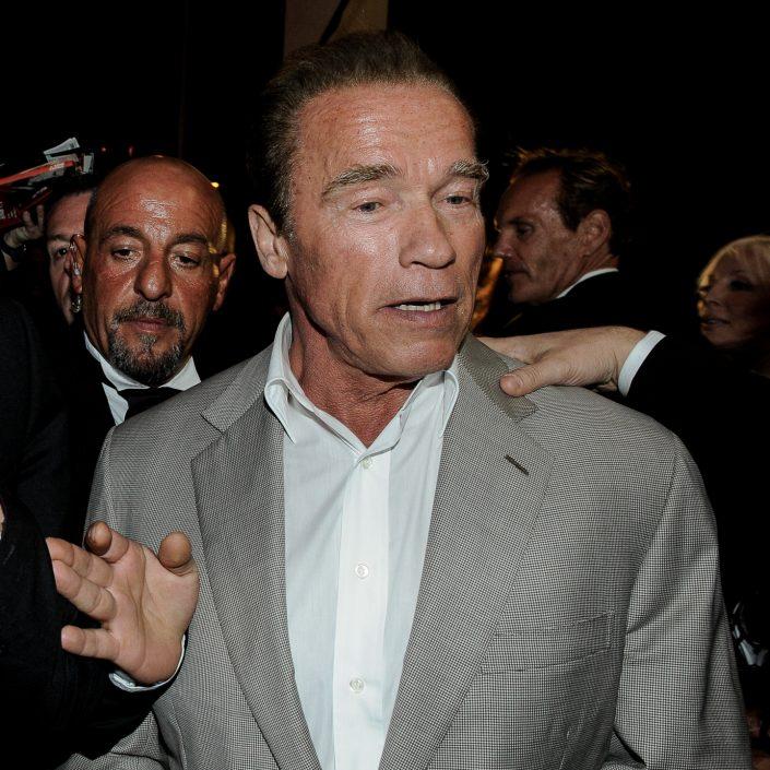 Arnold Schwarzenegger - Cannes 2014