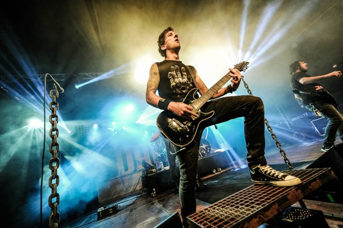 Dagoba plays at the Octopode Festival 2017