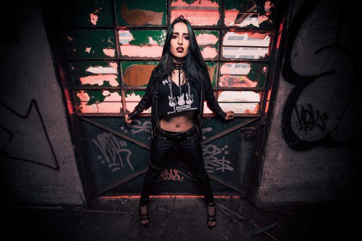 Rock model Allie by Julien ZANNONI