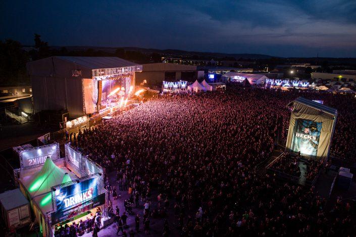 Nightwish plays at the Mera Luna Festival 2015