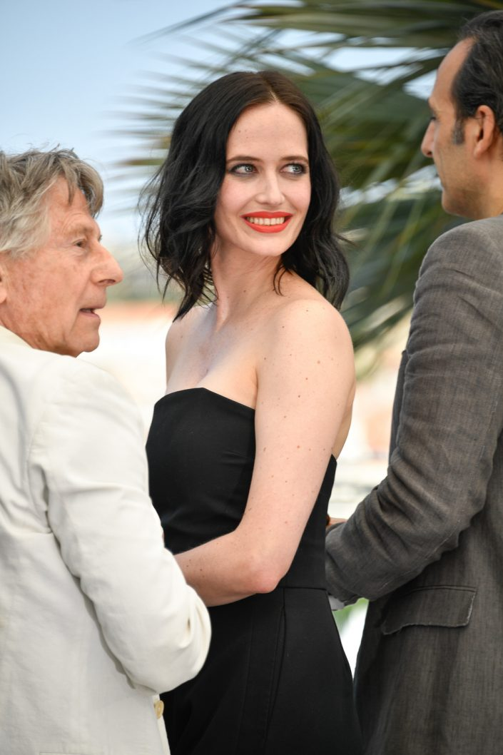 Roman Polanski & Eva Green - Cannes 2017