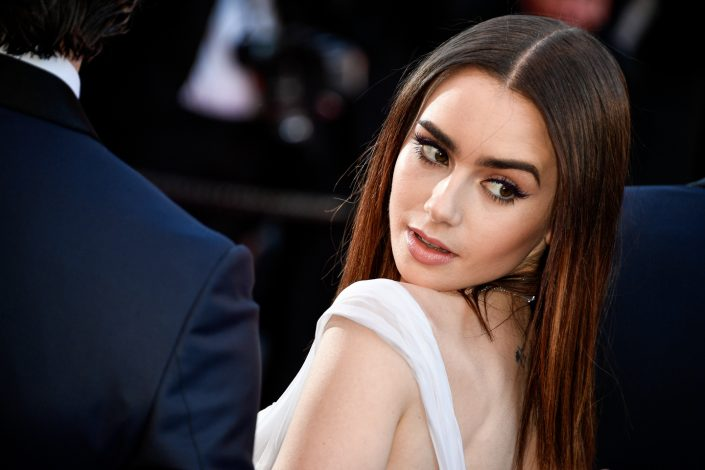 Lily Collins - Cannes 2017