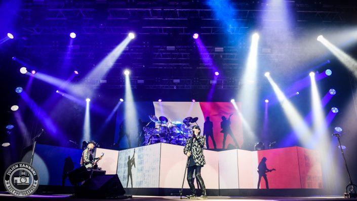 Scorpions plays at Guitare en Scène 2017