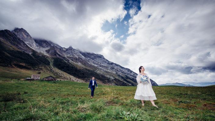 Mariage à La Clusaz en 2018