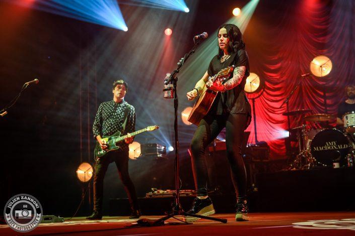 Amy Macdonald plays at Guitare en Scène 2017