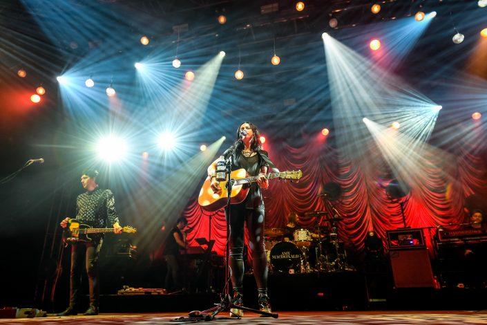 Amy Macdonald plays at festival Guitare en Scène 2017