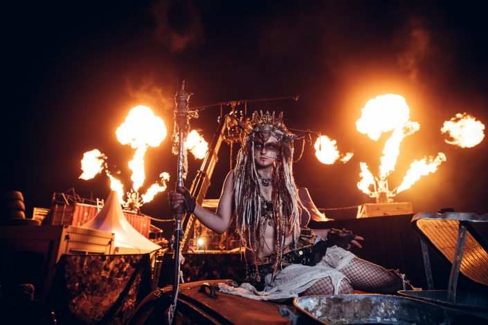 Wasteland Warriors - Wacken Open Air 2017 by Julien ZANNONI