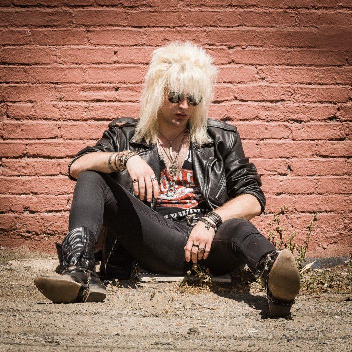 Rikki the hair metal guy by Julien ZANNONI