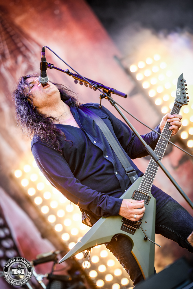 Kreator plays at Greenfield Festival 2017