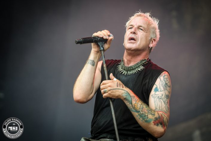In Extremo plays at Greenfield Festival 2017