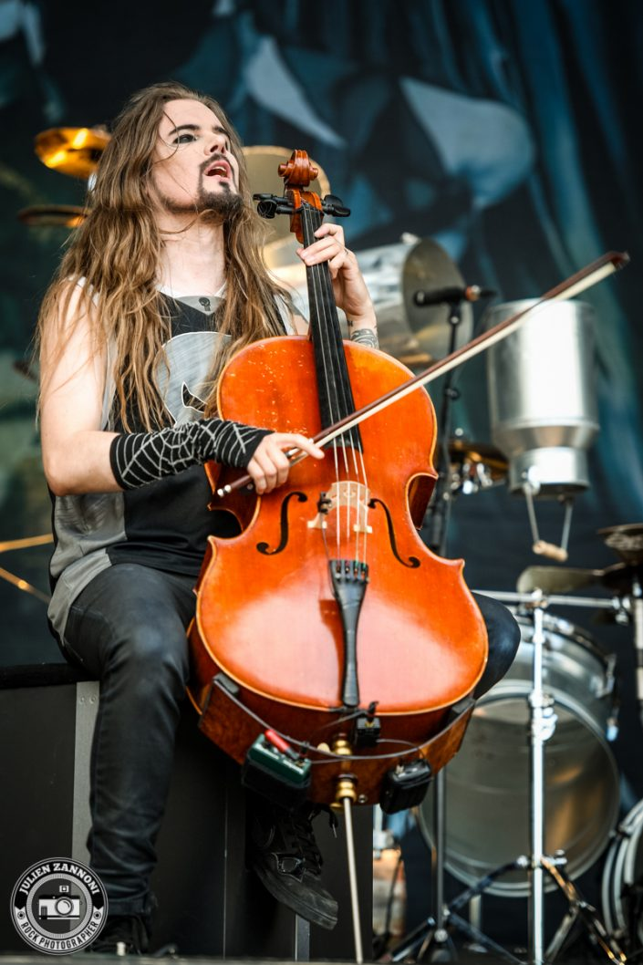 Apocalyptica plays at Greenfield Festival 2017