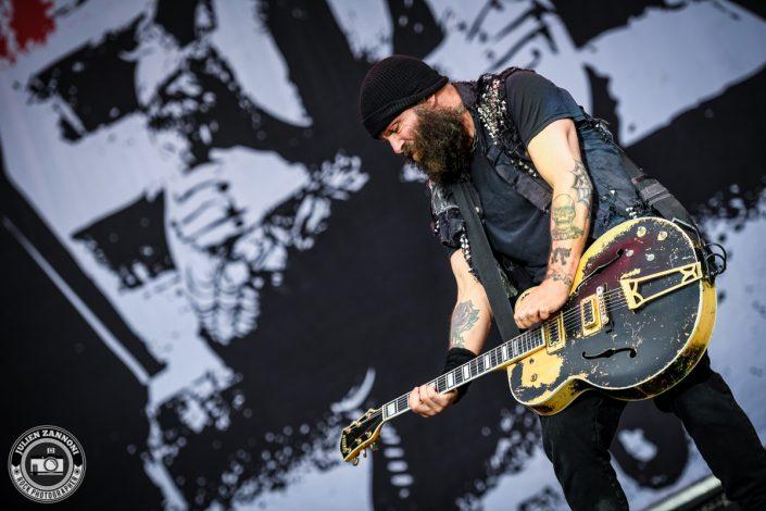 Rancid plays at Greenfield Festival 2017