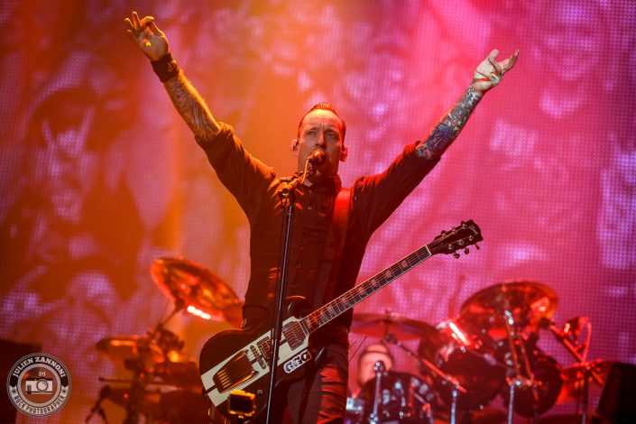Volbeat plays at Wacken Festival 2017