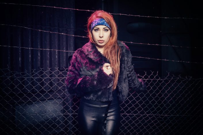 Rock model Manon Nadolny by Julien ZANNONI
