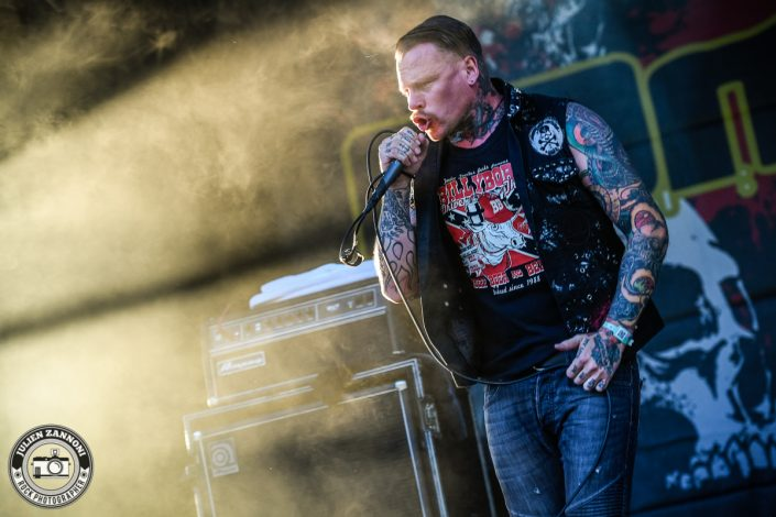 Combichrist plays at Greenfield Festival 2017
