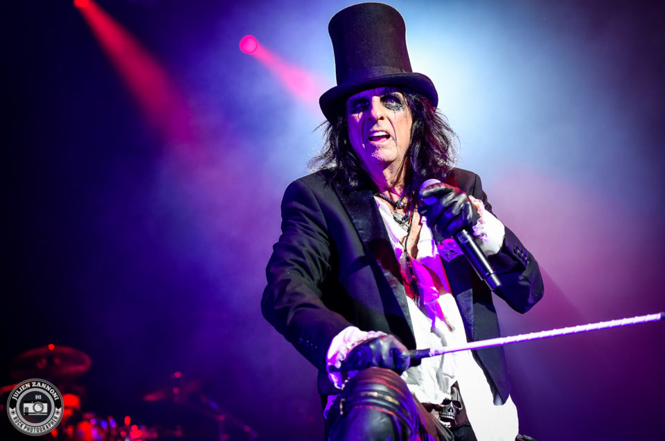 Alice COOPER plays in Lyon in 2017