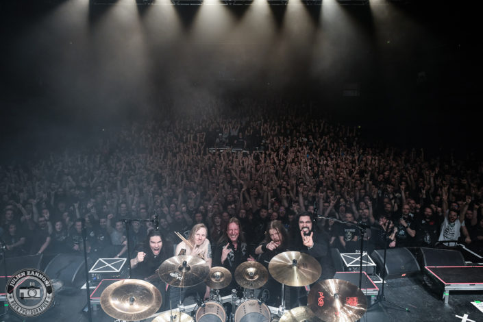 Wintersun plays in Lyon 2018