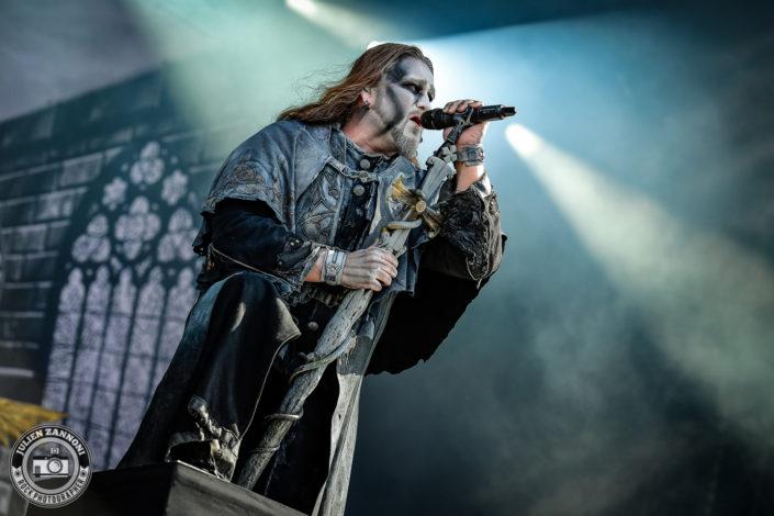 Powerwolf plays at the Download Festival Paris - 2018