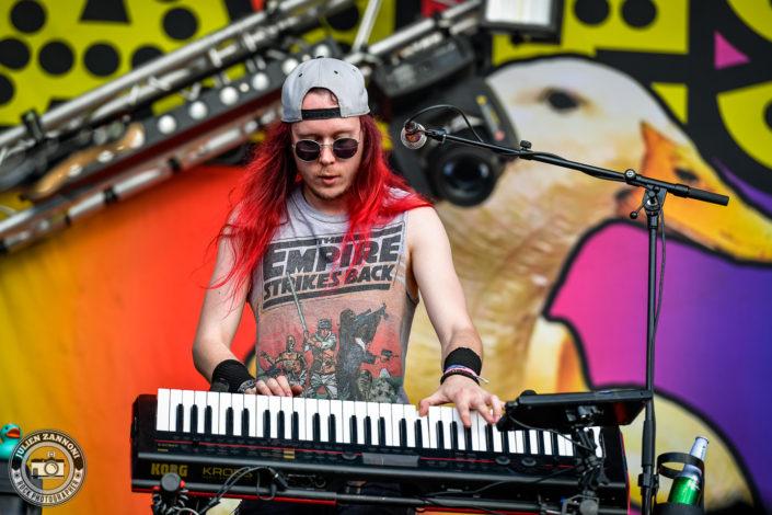 Alestorm plays at the Download Festival Paris - 2018