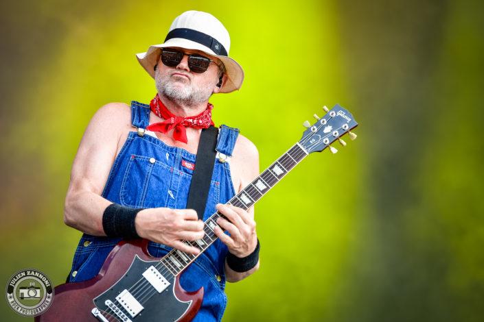 Turbonegro plays at the Download Festival Paris - 2018