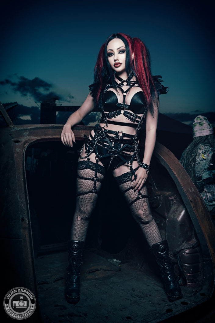Rock model Dani Divine by Julien ZANNONI