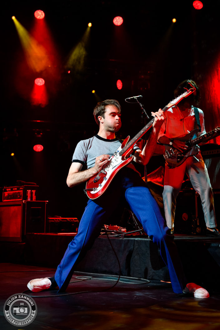 The Vaccines plays at the Montreux Jazz Festival 2018
