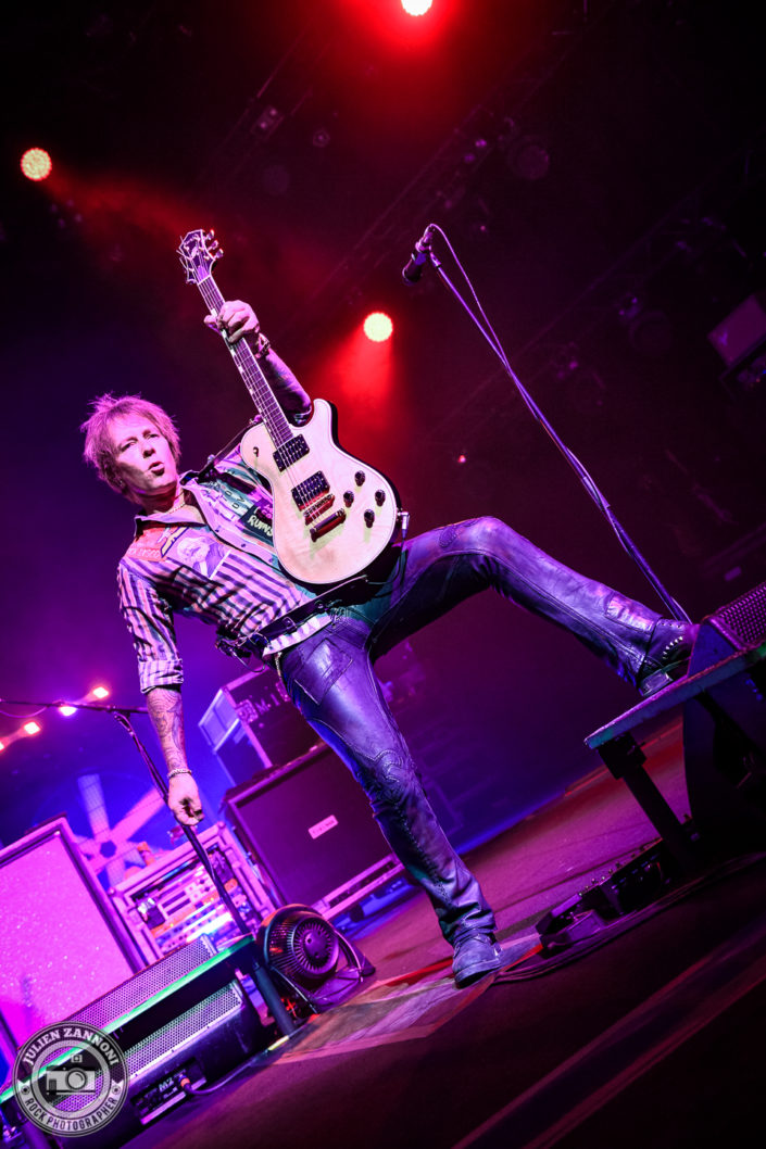 Billy Idol plays at the Montreux Jazz Festival 2018